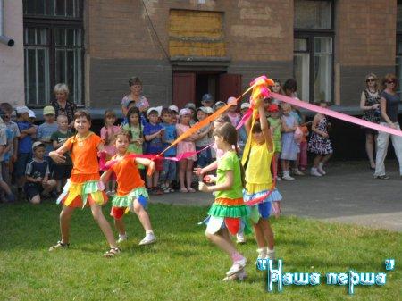 Відкриття пришкільного табору - 2012
